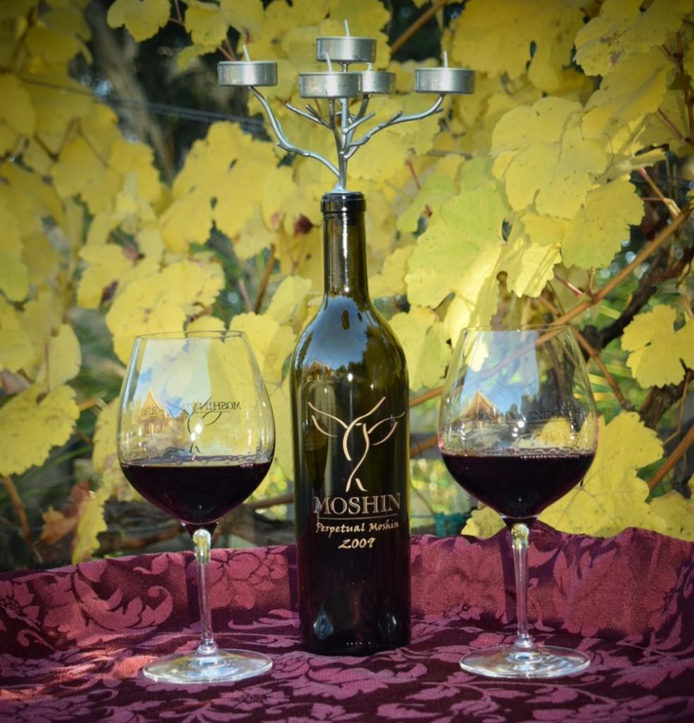 Moshin Vineyards Candelabra
