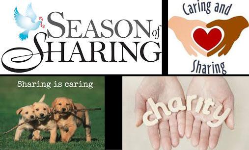 Make the season of sharing and caring all year long.