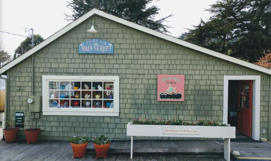 Duncans Mills Tea Shop
