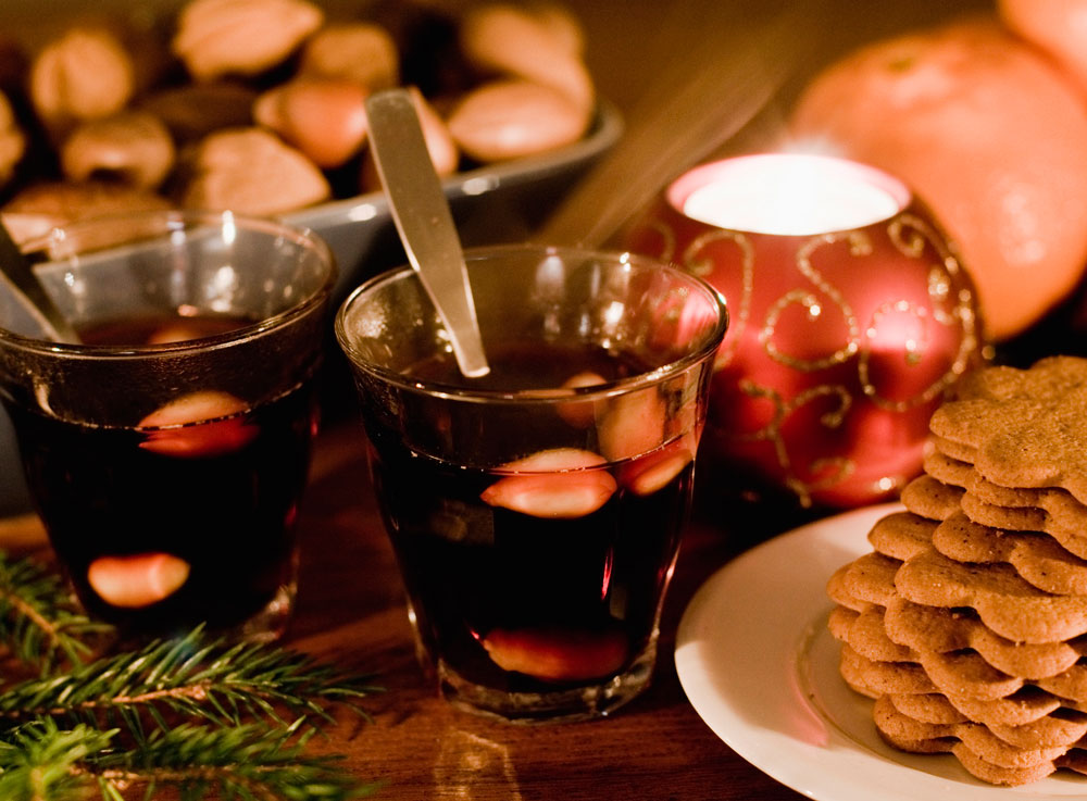 Swedish glogg made from West Wines.
