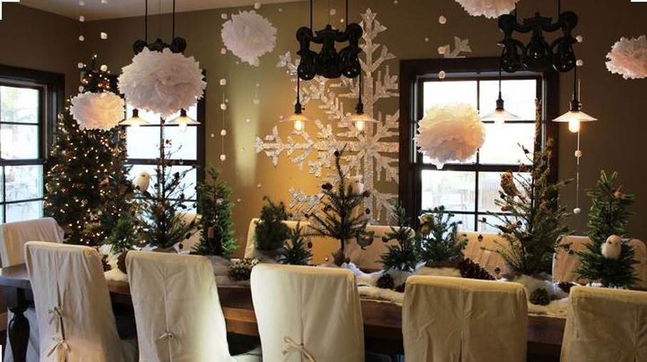 decorations for Winter Wineland