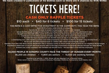 ad for the Instant Wine Cellar raffle