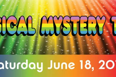 Join the Wine Road's Magical Mystery Tour on June 18, 2016.