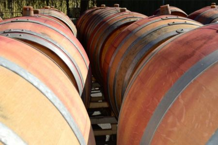Barrel Tasting time along the Wine Road