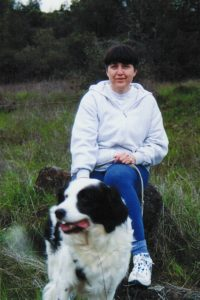 Julie Pedroncelli and her dog Spike
