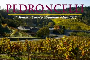 Vista of Pedroncelli Winery