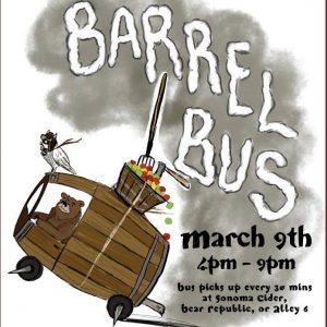 Barrel Bus poster