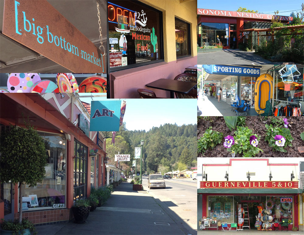 Guerneville offers much more than just outdoor recreation.