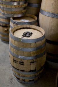 Kegs of brandy