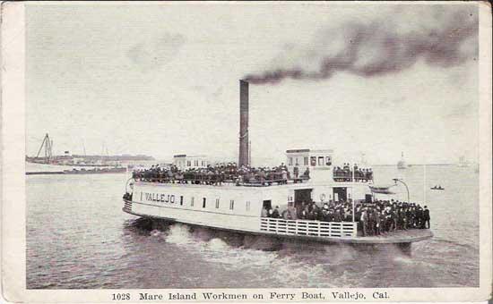 Mare Island Ferry.