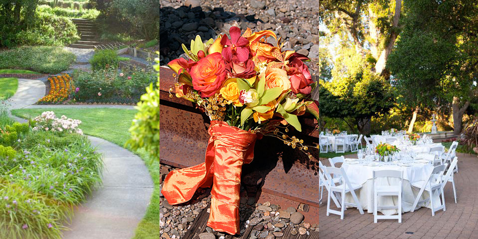 compiled wedding images from Madrona Manor