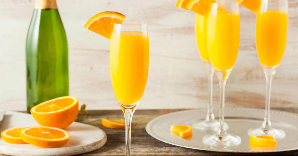 Mimosas for Mother's Day, a great match