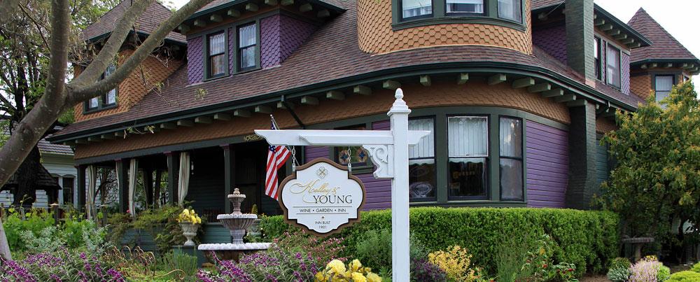 The Wine Garden Inn in Cloverdale