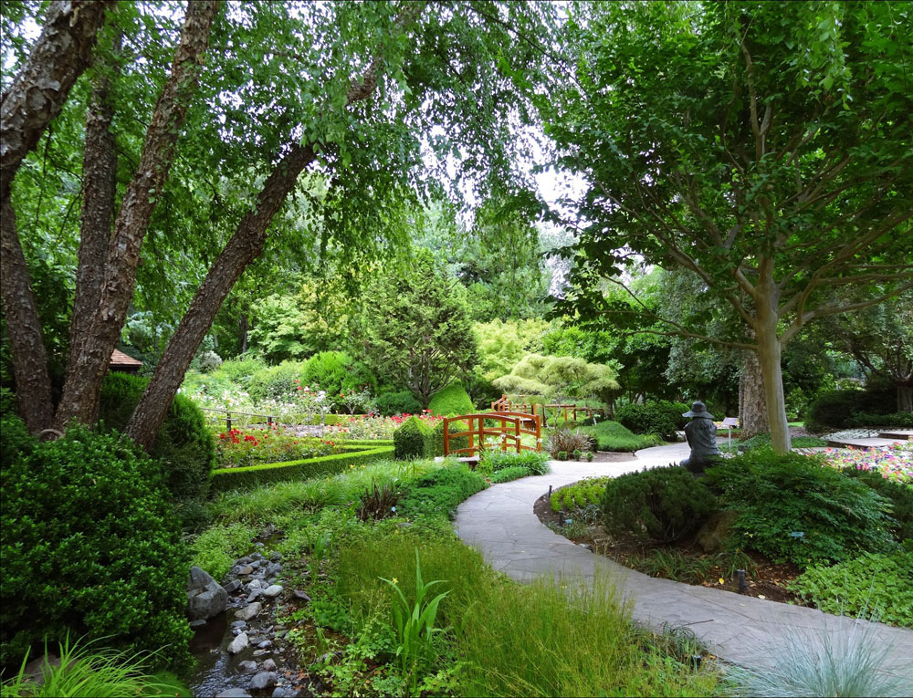 gardens at Ferrari Carano.