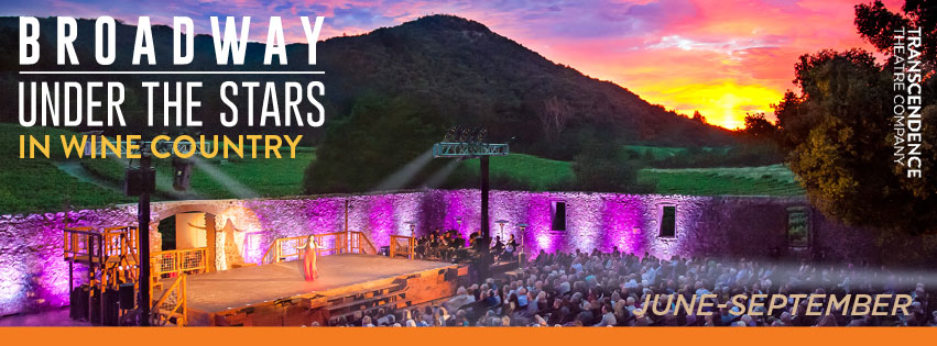 Broadway under the stars in Wine Country ad