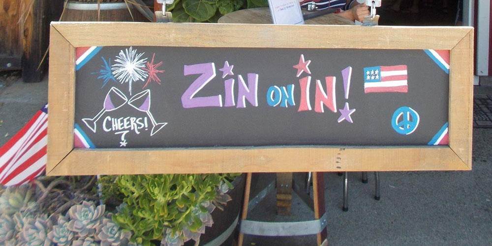 sign for Zin on In