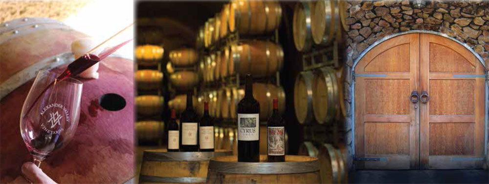 Check out Alexander Valley Vineyards winery & cave tour--it's complimentary!