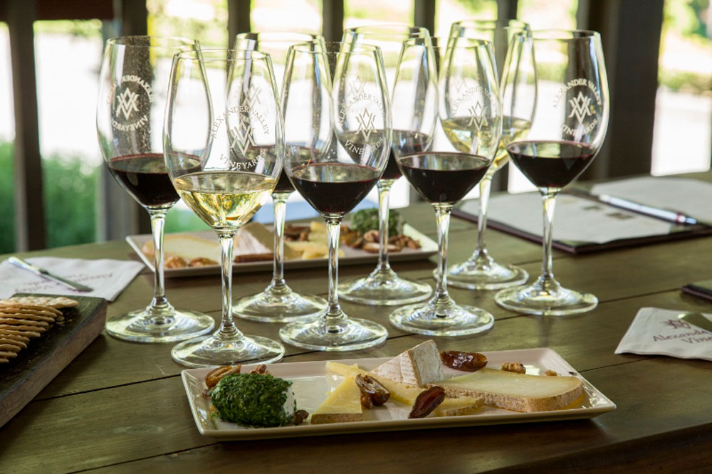 Alexander Valley Vineyards Wine & Cheese Pairing