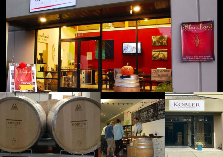 Blanchard & Kobler are next door neighbors and Malm Cellars is just around the corner.