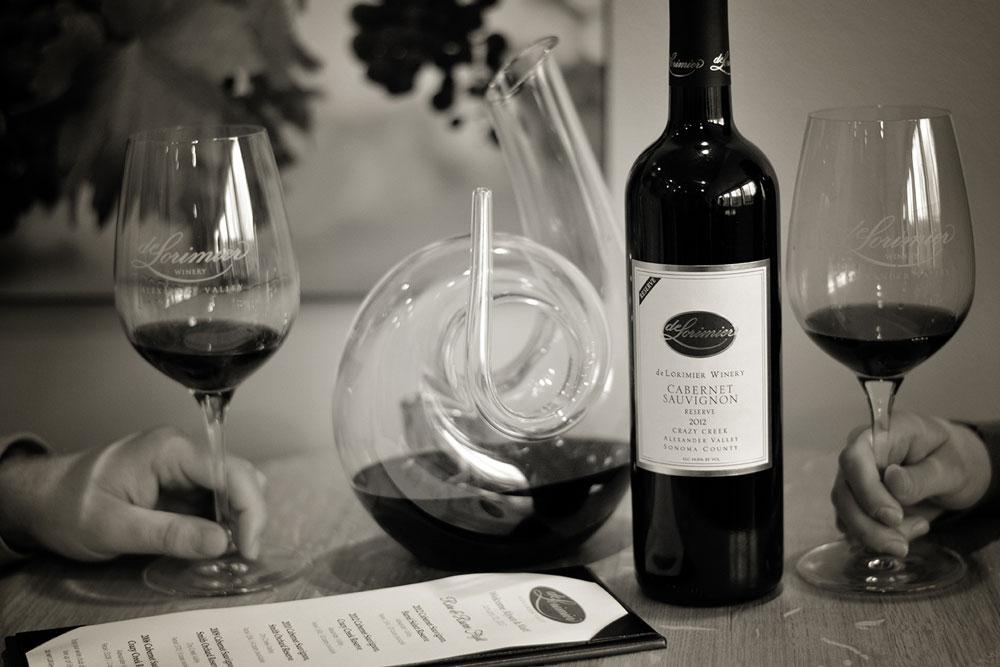 deLorimier Winery's Rare & Reserve Tasting