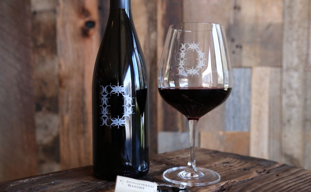 C. Donatiello Pinot Noir is waiting for you to enjoy a sip