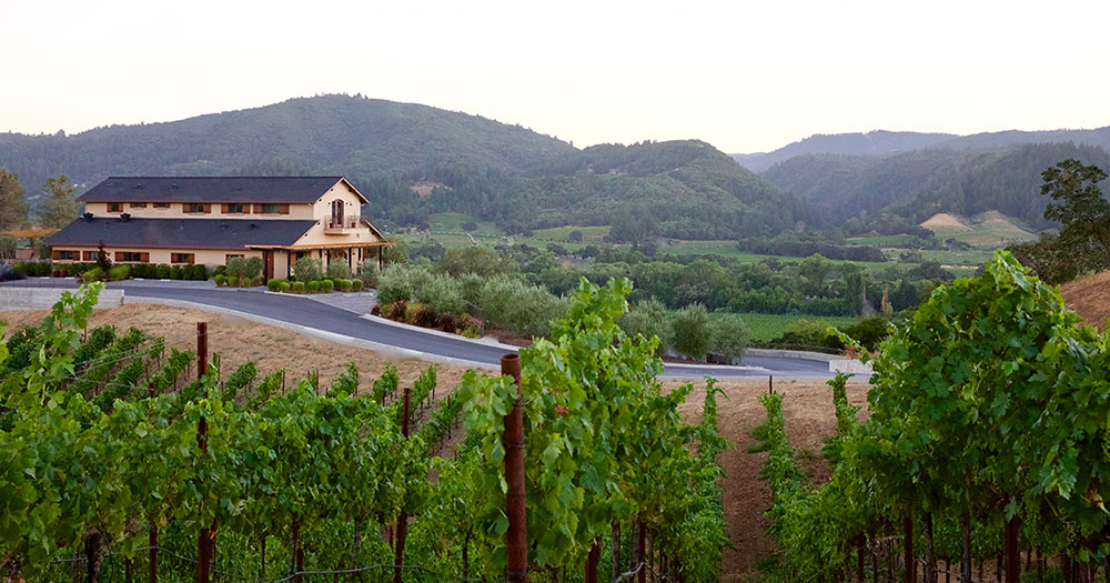 Trattore Winery in Dry Creek Valley
