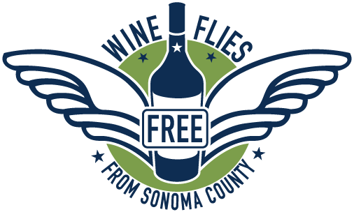 logo of Wine Flies Free from Sonoma County