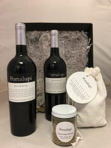 Portalupi gift pack wine wine, seasoning and more