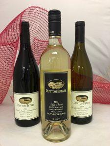Three Dutton Estate wines
