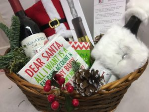 Gift pack of various items from K Squared winery