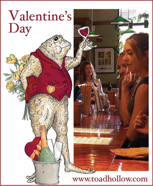 Toad Hollow Valentine's Day poster