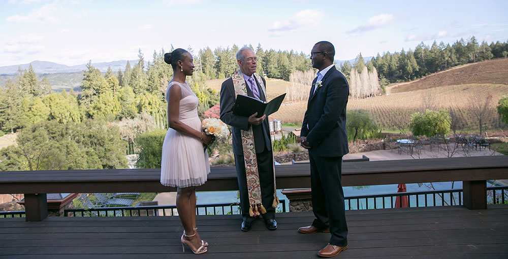 Wilson Artisan Wineries offers several picture perfect setting for elopement ceremonies.