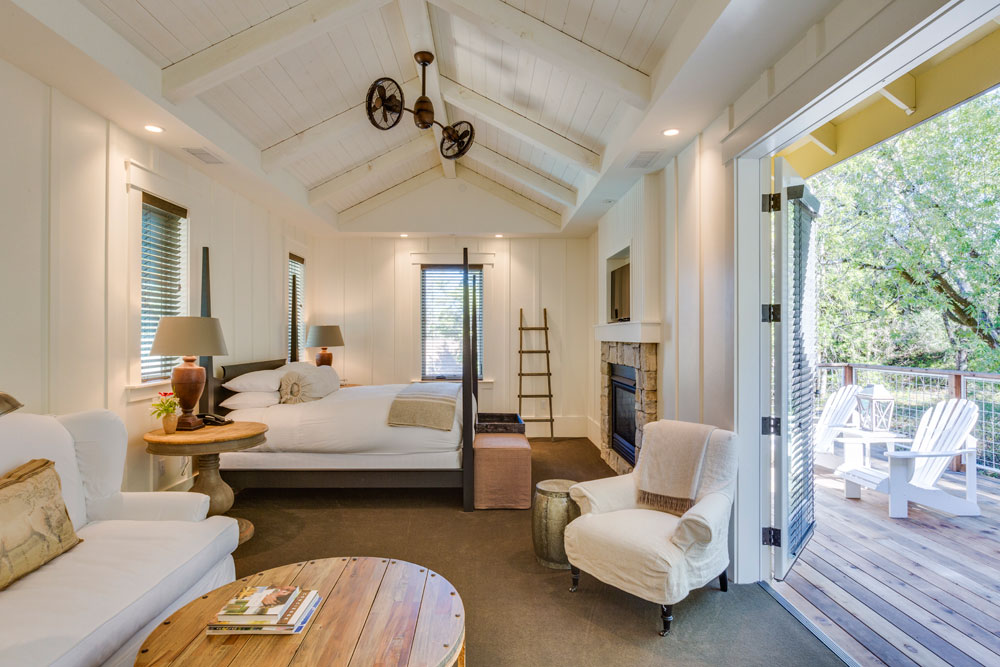 One of the recommended rooms for honeymooners at the Farmhouse Inn.