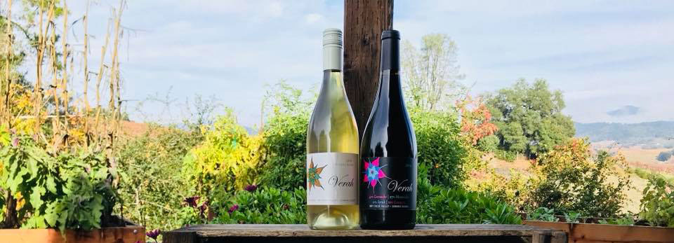 Mounts Family Winery's Verah wines are delicous Rhone varietal blends.