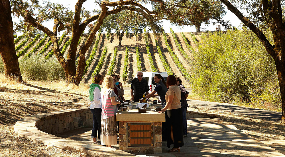 Jordan Vineyard & Winery tour and tasting