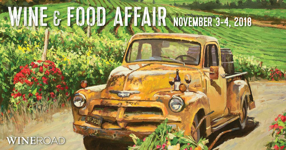 Wine & Food Affair 2018 Poster