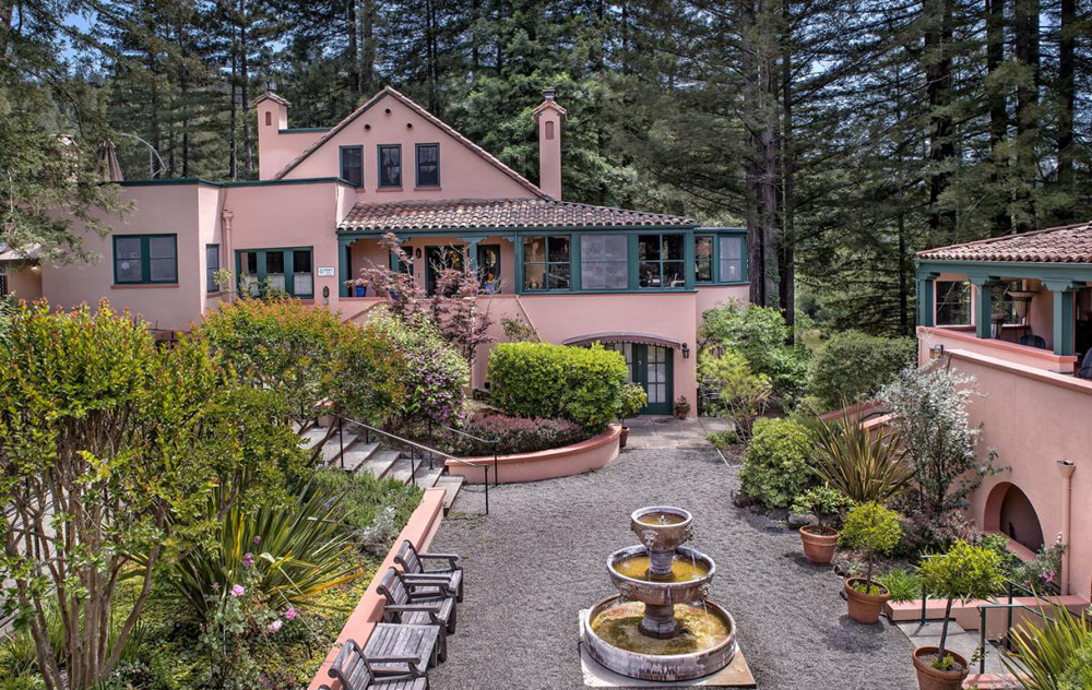 Applewood Inn & Spa just outside Guerneville CA