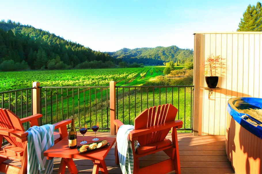West Sonoma Inn view