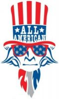 All American Zin Day Uncle Sam logo