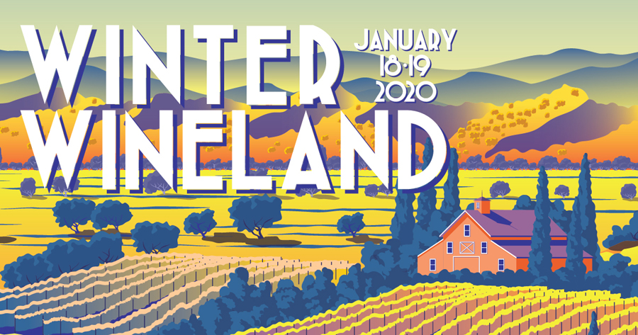 Wine Road's Winter Wineland is January 18 & 19, 2020