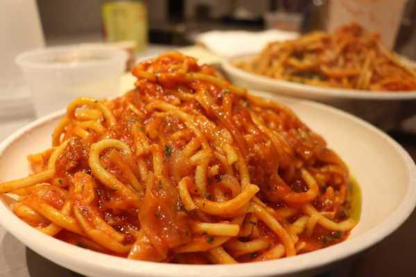 photo of Spaghetti All' Amatriciana.