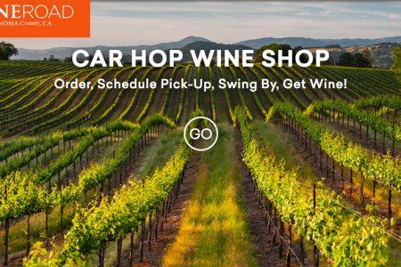 Car Hop Wine Shop web page
