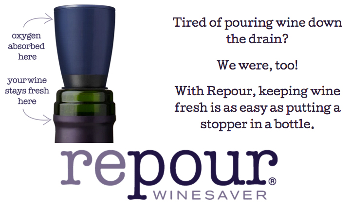 Repour Winesaver image and explanation